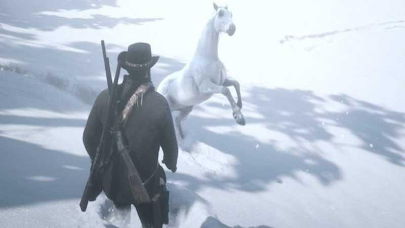 Red Dead Redemption 2 el mejor caballo