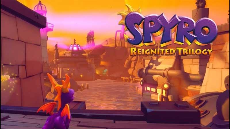 Trilogía de Spyro Reignited engranajes donde están