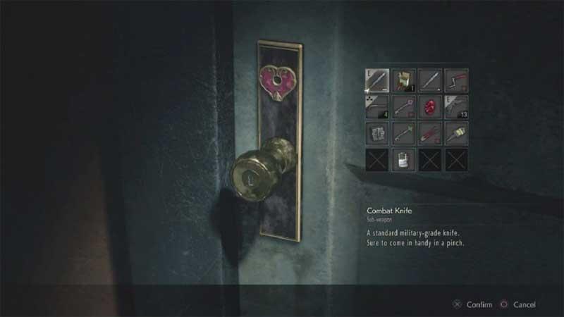 Resident Evil 2 donde esta la llave del corazón